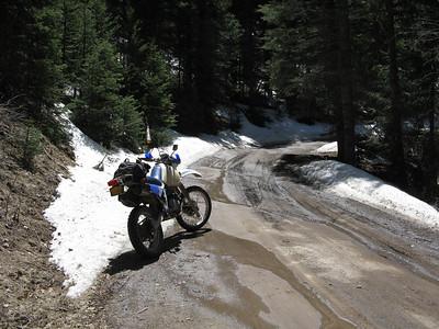 Jemez Mtns. - Guadalupe-Fenton-FR 36-Dome Rd.-Waldo-Cerrillos-Diamond Tail Rd. DS Ride  4-26-09