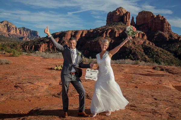 Rhonda & Alan's Sedona Wedding