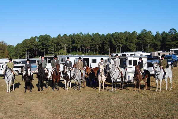 USA-Sweden Invitational Visit - Bear Creek Hounds Foxhunt in Chapel Hill