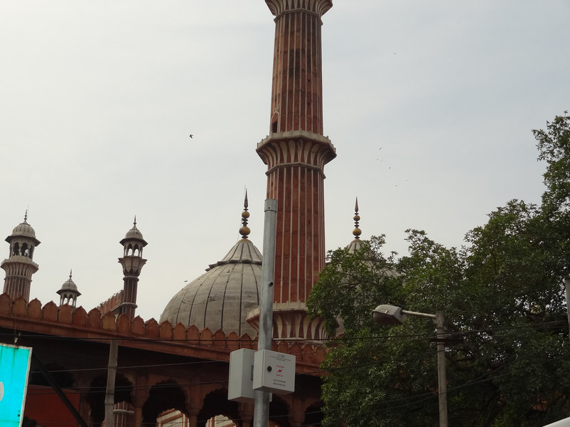 Pillar at Jama Masjid