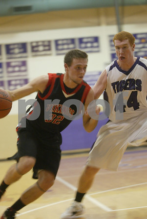 Whitehall / Shelby Boys Basketball 01 13 2012