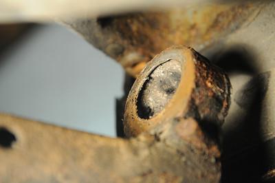 BMW 323i (E36) Längslenkerlager defekt