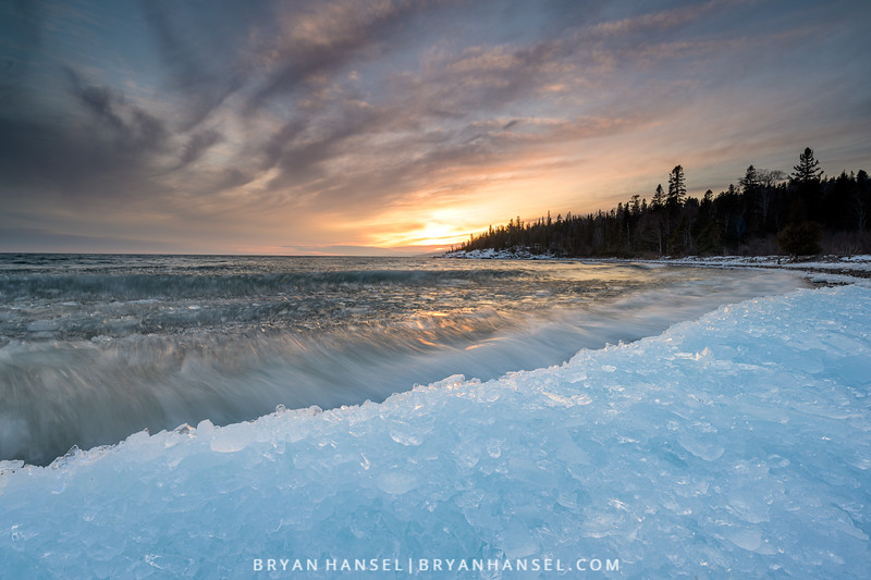 Breaking Ice on Superior