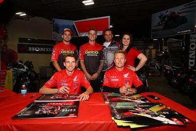 Cities Edge Motorsports Honda Autograph Session