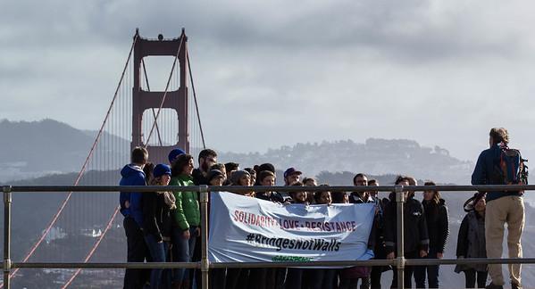 Human Chain_Golden Gate Bridge
