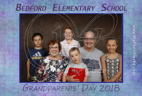 Bedford Elementary Grandparents Day Thursday 2018