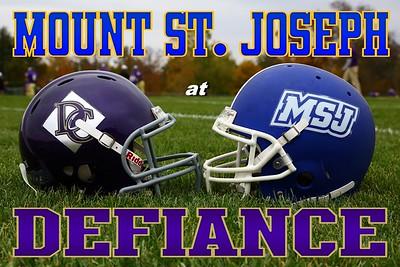 2012 Mount St. Joseph at Defiance (10-13-12)