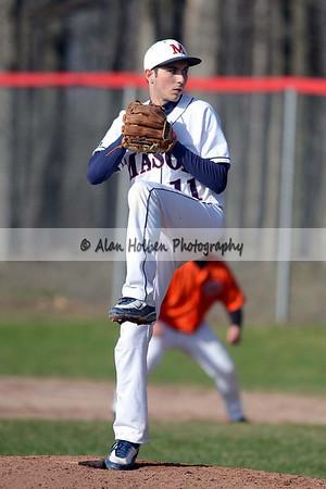 Varsity Baseball - Charlotte at Mason - April 21