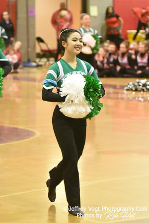 2/2/2019 Walter Johnson HS at MCPS County Poms Championship Blair HS Division 1,  Photos by Jeffrey Vogt Photography with Kyle Hall