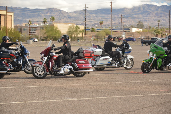 1-31-15 Scottsdale Motorcycle Drill Team