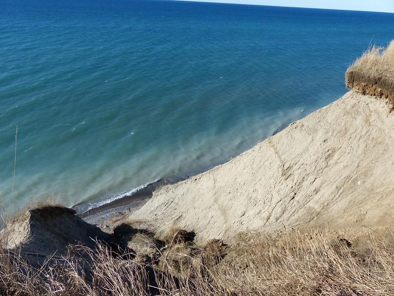 Bluffs along Lake Ontario