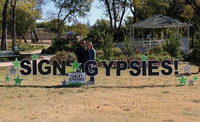 Sign Gypsies RIbbon Cutting 2017