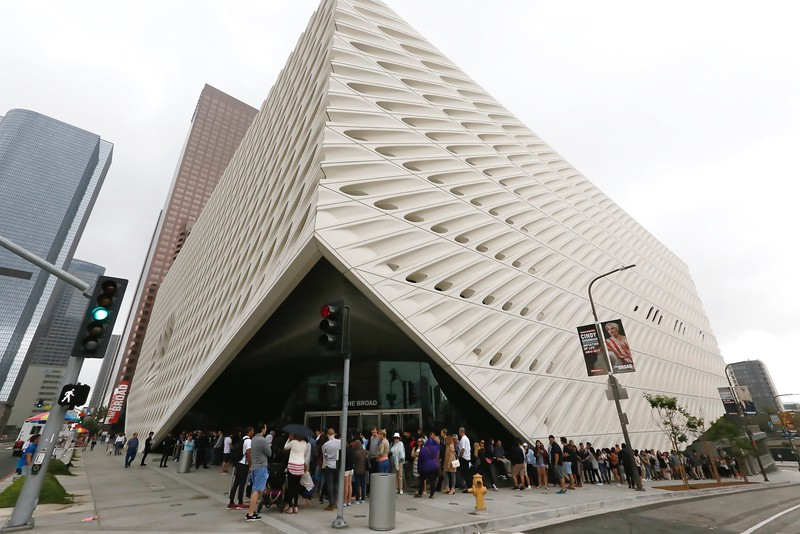 """Cindy Sherman: Imitation of Life"""" public opening at The Broad museum, 11 June, 2016, Los Angeles"""