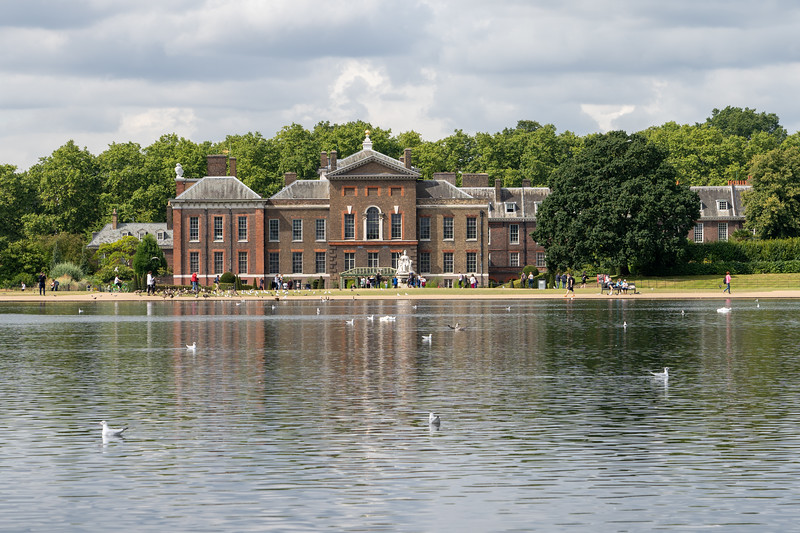 Kensington Palace in Hyde Park