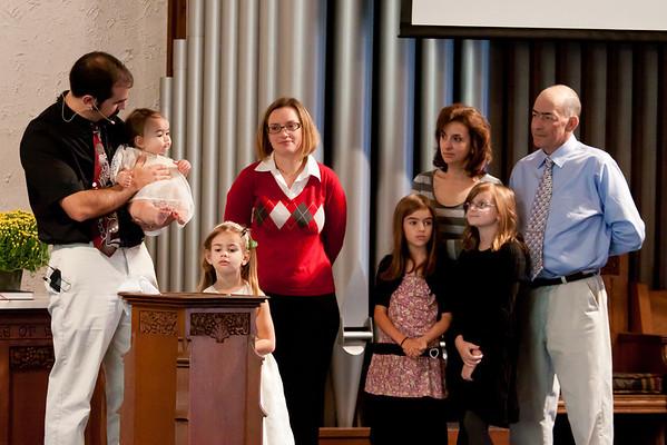 Lindsay's Baptism