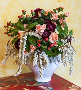 My floral arrangments