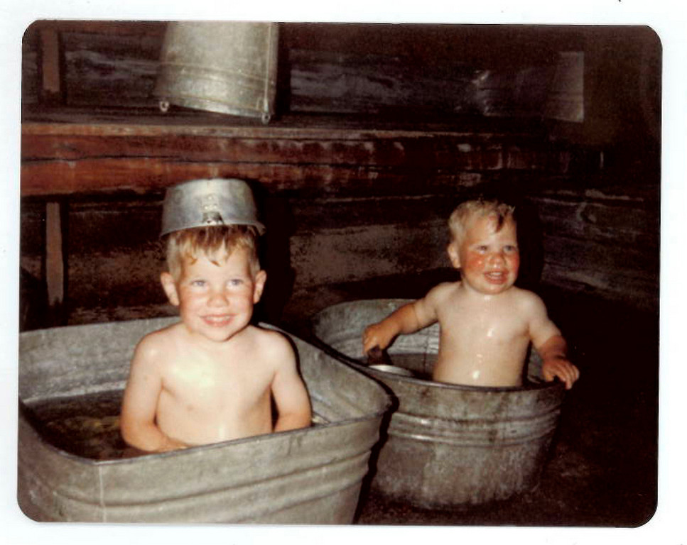. The little treasures (Galvanized Tubs Division)