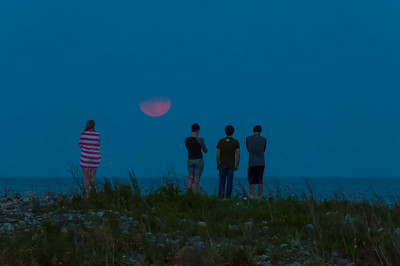 Scituate Moon