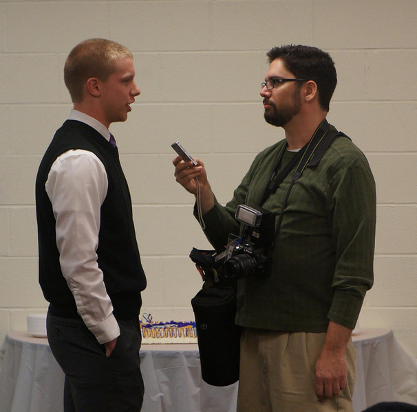 Lutheran West senior Chris Ranc is interviewed by Ryan Kaczmarski of WestLife on National Signing Day 2013. Chris signed with Ashland University.