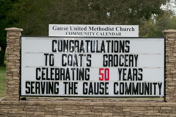 Coats Family Celebrates 50 Years of Service