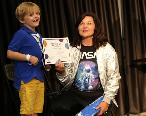 Janet's Planet Space Camp Graduation-MC3 Pottstown