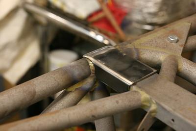 01-22-2019 Titan steering rack and roll bar work