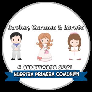 Comunión Javier, Carmen & Loreto