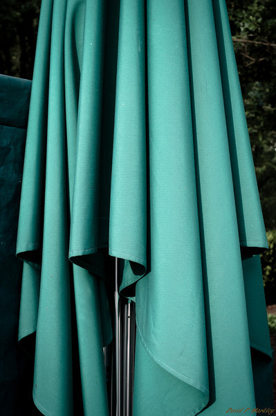 Folded Umbrella