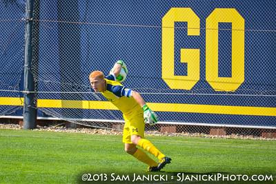 Best of UM Men's Soccer Vs Loyola 8-30-13