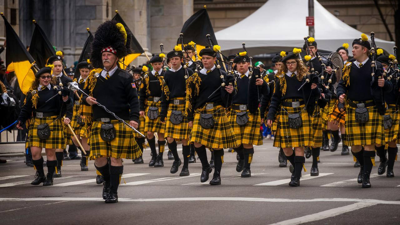 St. Patricks Day Parade New York 2015