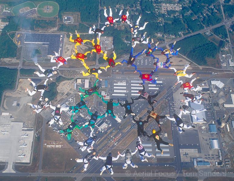Demo Jump Washington Airshow