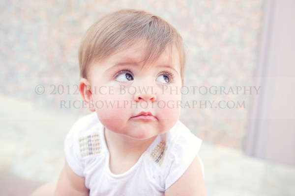 One Year Portraits | Delilah