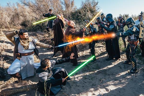 Sherman Island Star Wars Shoot