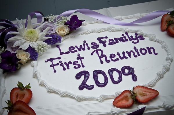 Lewis Family Reunion 2009