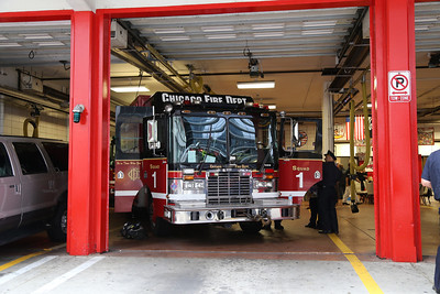 Chicago FD Squads 100 yrs of service