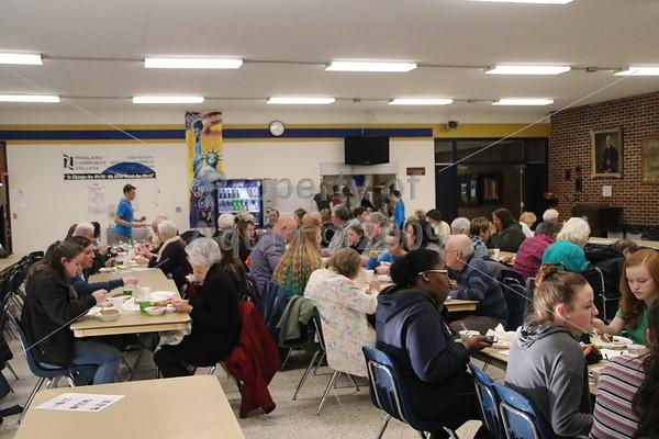 performing art fundraiser dinner . 3.17.19