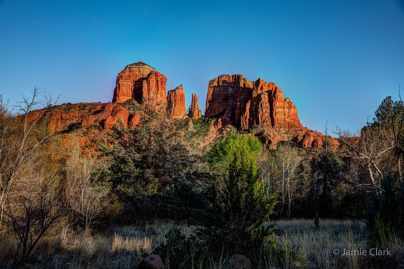 Cathedral Rock. Red Rock Crossing Trail. Sedona, Arizona