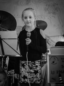Tuva - solist i Enskede Blåsorkester