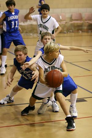 WRMS Basketball 06-07