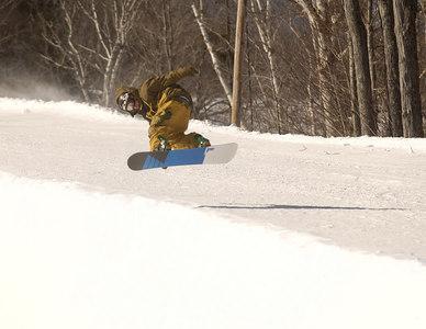 Halfpipe Mt. Snow 2007-02-20