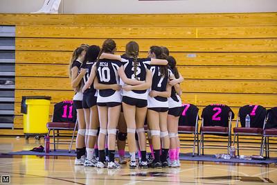 10-25-12 Varsity Volleyball at Laguna