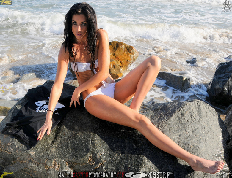 beautiful woman sunset beach swimsuit model 45surf 824.best.book...