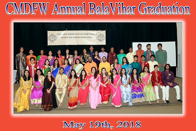 Annual Balavihar Graduation - 2018