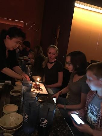 Kailin's birthday