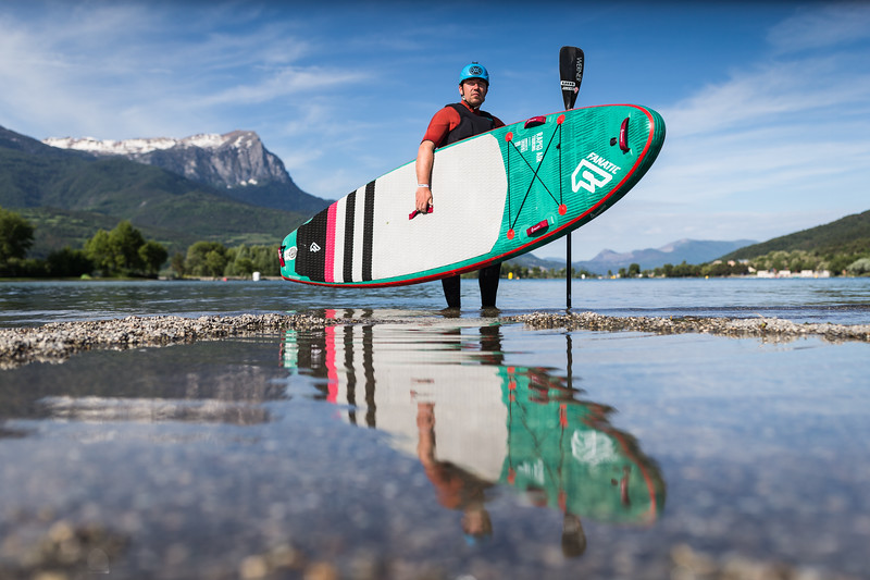 Nicolas Fayol / Stand Up Paddle Athlete / Embrun, France, 2018
