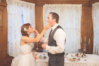 Missy + Chris' Wedding Reception