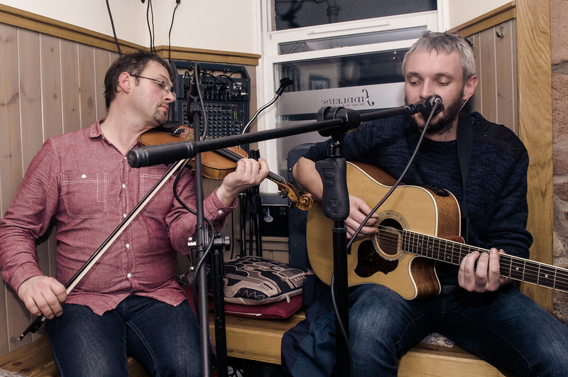 Donal and Mic Clark
