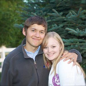 2012-09 Logan and Savannah