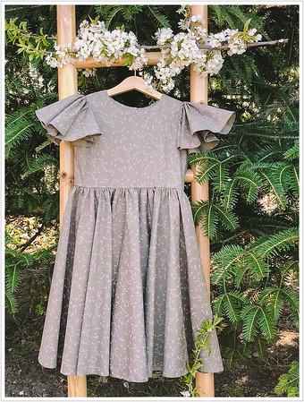 Rose Cotton - Aprilie - Dresses - Border