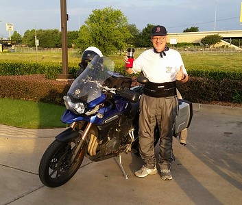 2016 7/3 Ride to Grand Cafe in Whitewright